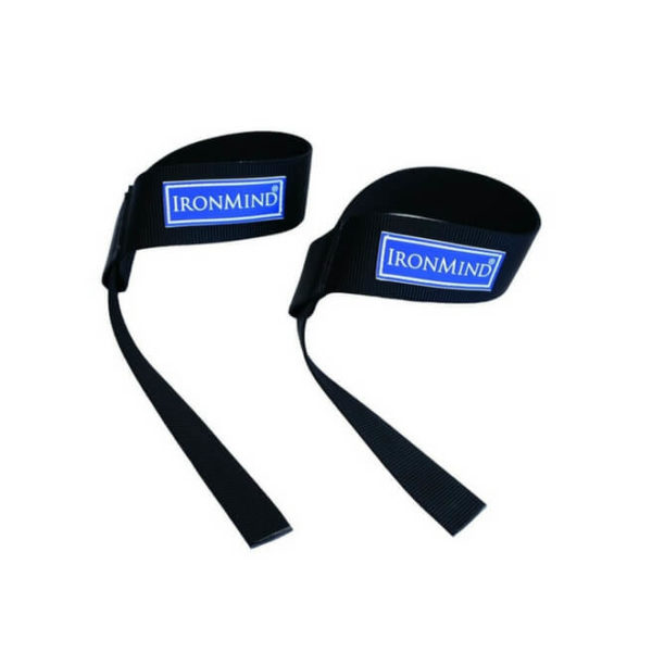 Black and Fourth Lifting Straps (Iron Mind)