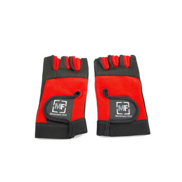 Nylon Gloves with Leather Padding