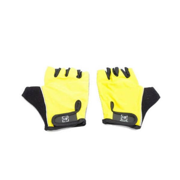 Polyester Glove with Suede Leather Padding