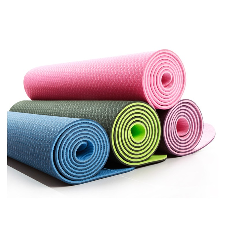 Buy Premium Padding Tpe Yoga Mat 6mm Fitness League
