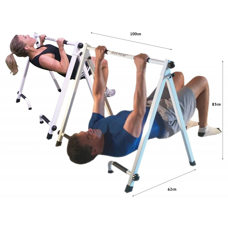 Buy portable incline pull up bar with push station